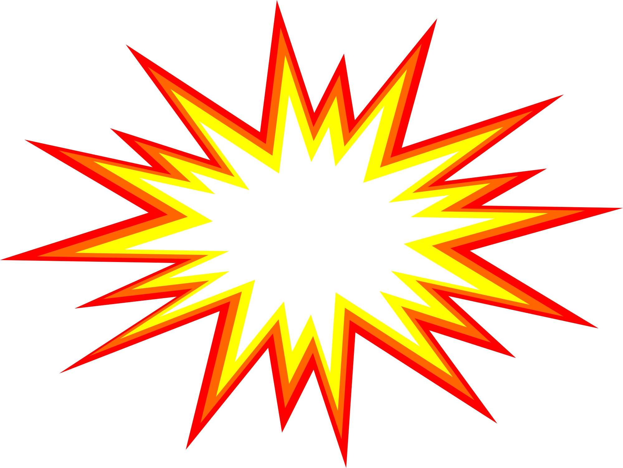 Star Burst Png.