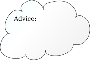 Advice Clipart.