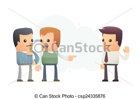Stock Illustrations of friend advised good firm. conceptual.