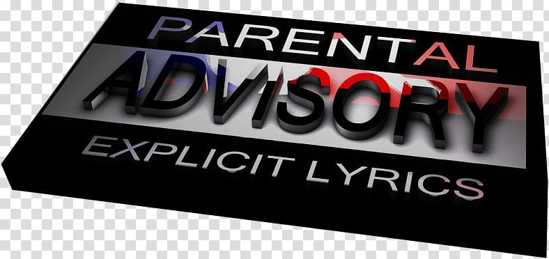 Parental Advisory Logo Display advertising Brand Lyrics.