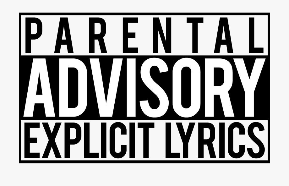 Transparent Parental Advisory Png Lyric , Transparent.