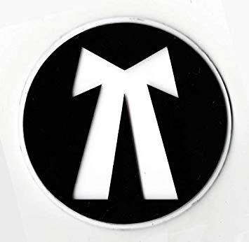 The Logo Man Advocate 3D Emblem Decal Car Bike Sticker Logo.