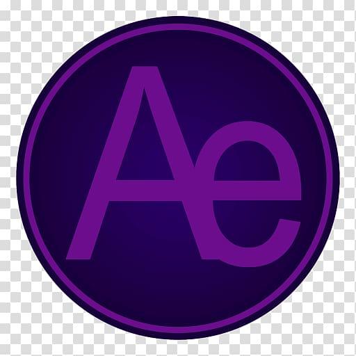 Purple symbol trademark, Adobe Ae transparent background PNG.