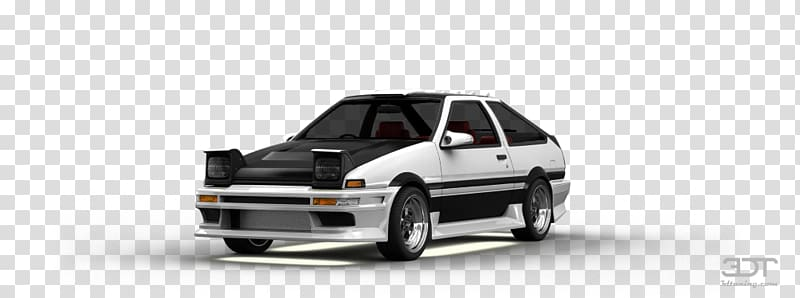 Bumper Compact car Automotive design Car door, toyota ae86.