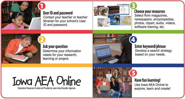 Iowa AEA Online is funded and supported by Iowa\'s AEAs and.