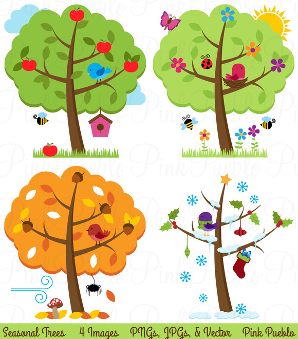 All Seasons Clipart.