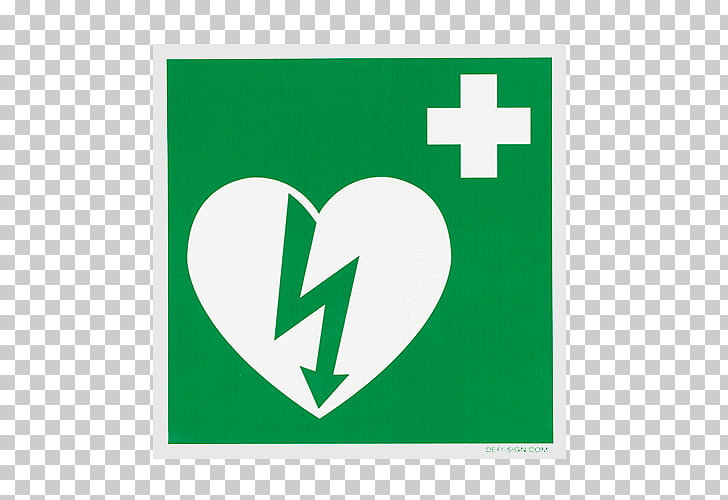 Automated External Defibrillators Defibrillation Sign Safety.