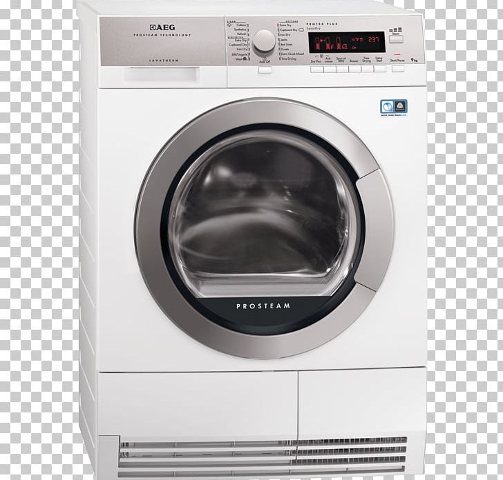 Washing Machines AEG L85470SL Clothes Dryer Linens PNG.