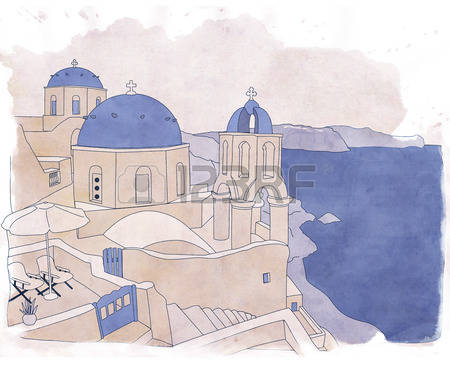 525 Santorini Stock Vector Illustration And Royalty Free Santorini.