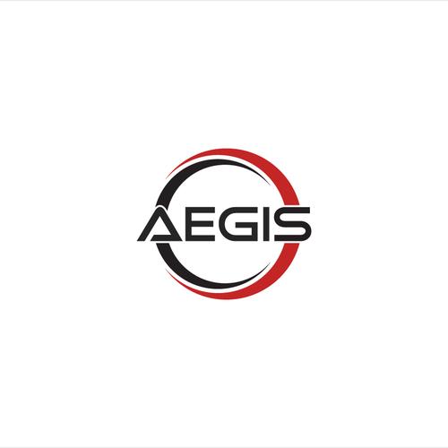 Industrial Strength AEGIS logo.