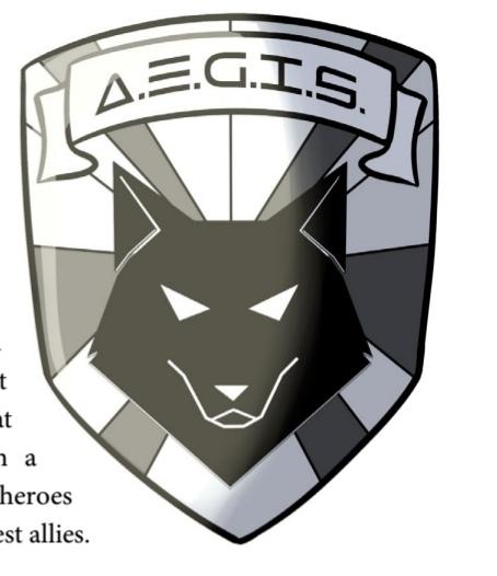 A.E.G.I.S. logo.