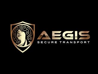 Aegis Secure Transport logo design.