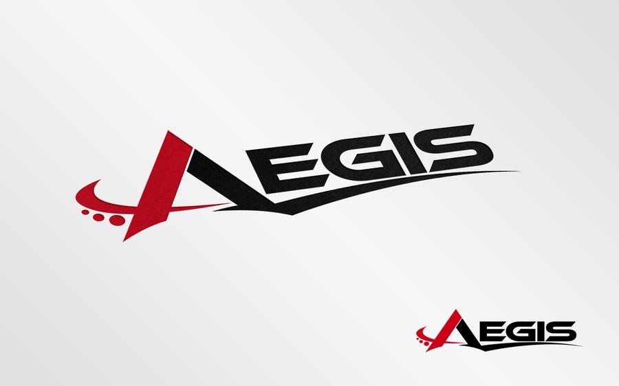 Entry #2 by kyriene for AEGIS Logo.