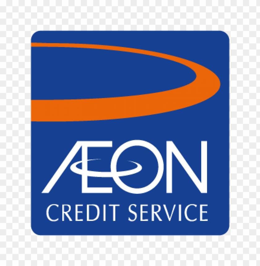 aeon credit service vector logo.