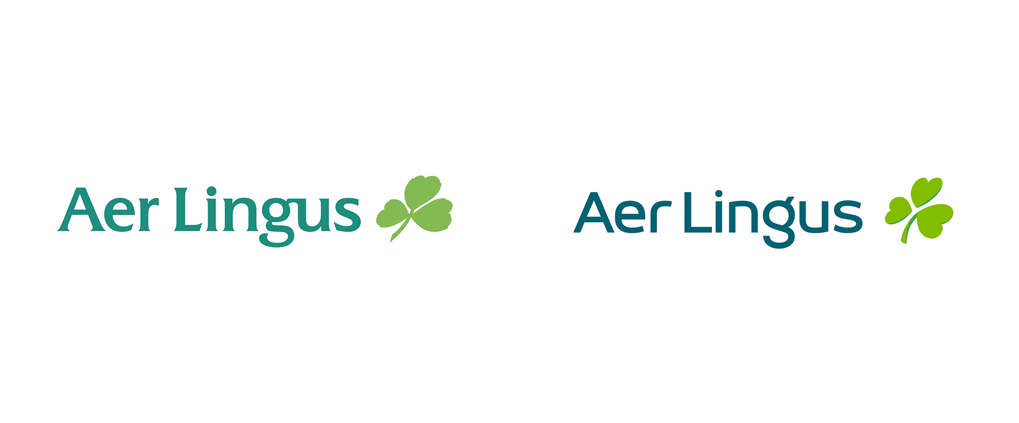 Brand New: New Logo, Identity, and Livery for Aer Lingus by Lippincott.