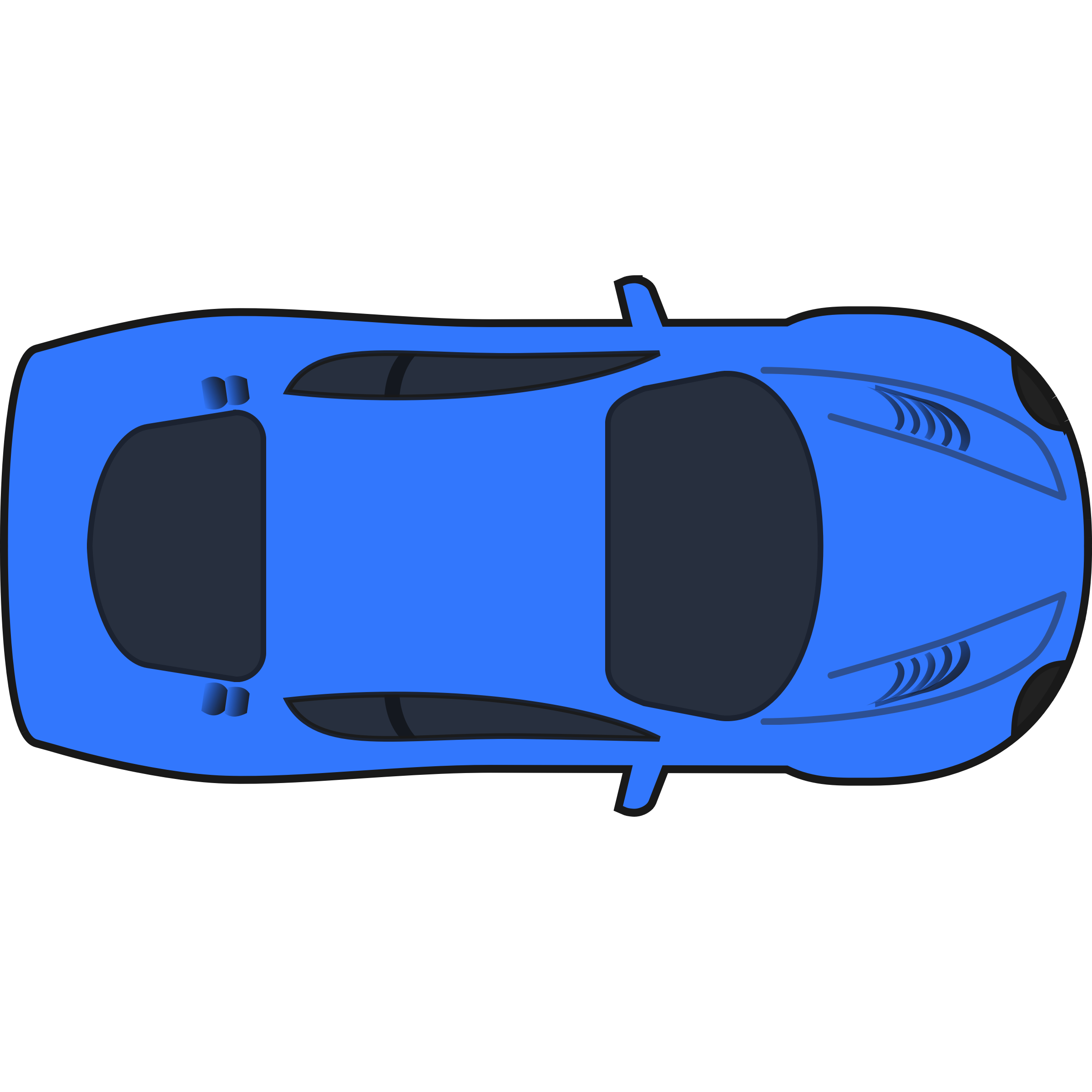 Aerial View Of Car Clipart.