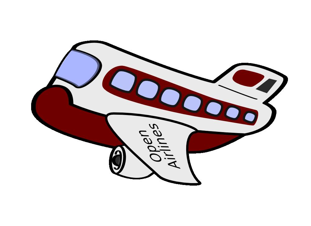clipartist.net   Clip Art   aereo passeggeri funny.