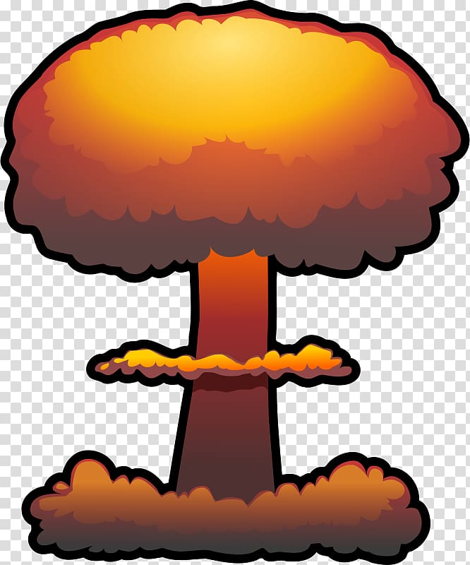 Nuclear weapon Nuclear explosion Bomb , Free Cloud.