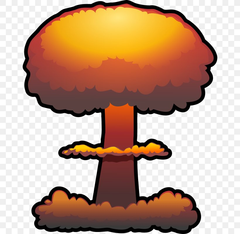 Nuclear Weapon Nuclear Explosion Bomb Clip Art, PNG.