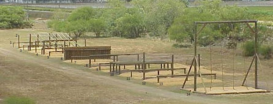 Military Obstacle Course.
