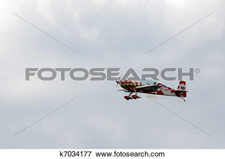 Picture of Extra 300 Ultimate High aerial display at Biggin Hill.