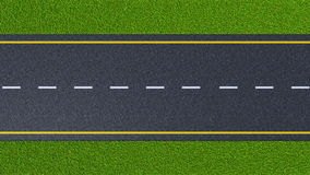 Road Top View Clipart.
