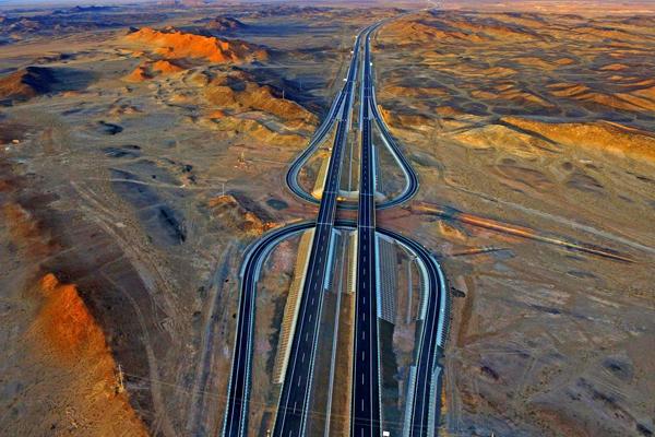New road brings Xinjiang closer.