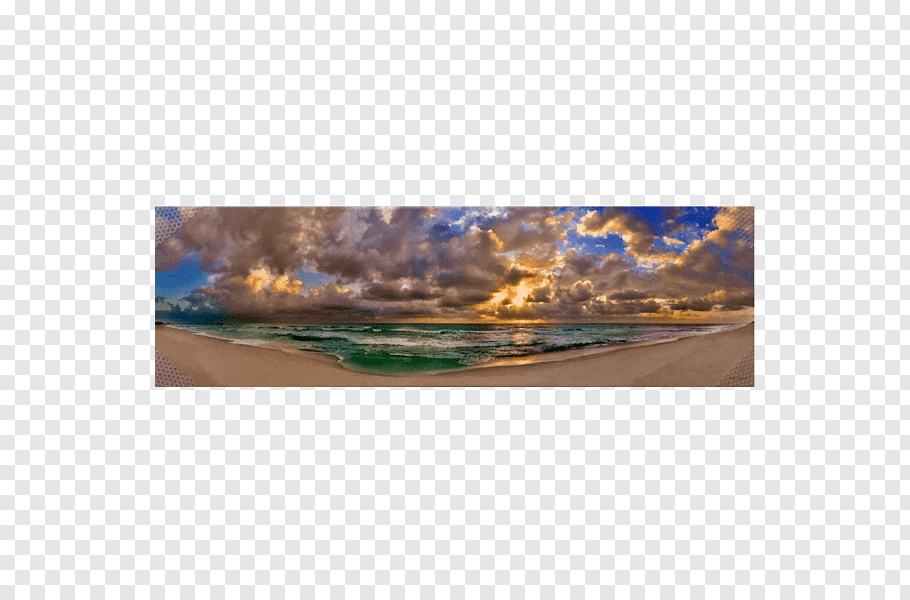 Smathers Beach Panoramic graphy Panorama, beach free png.