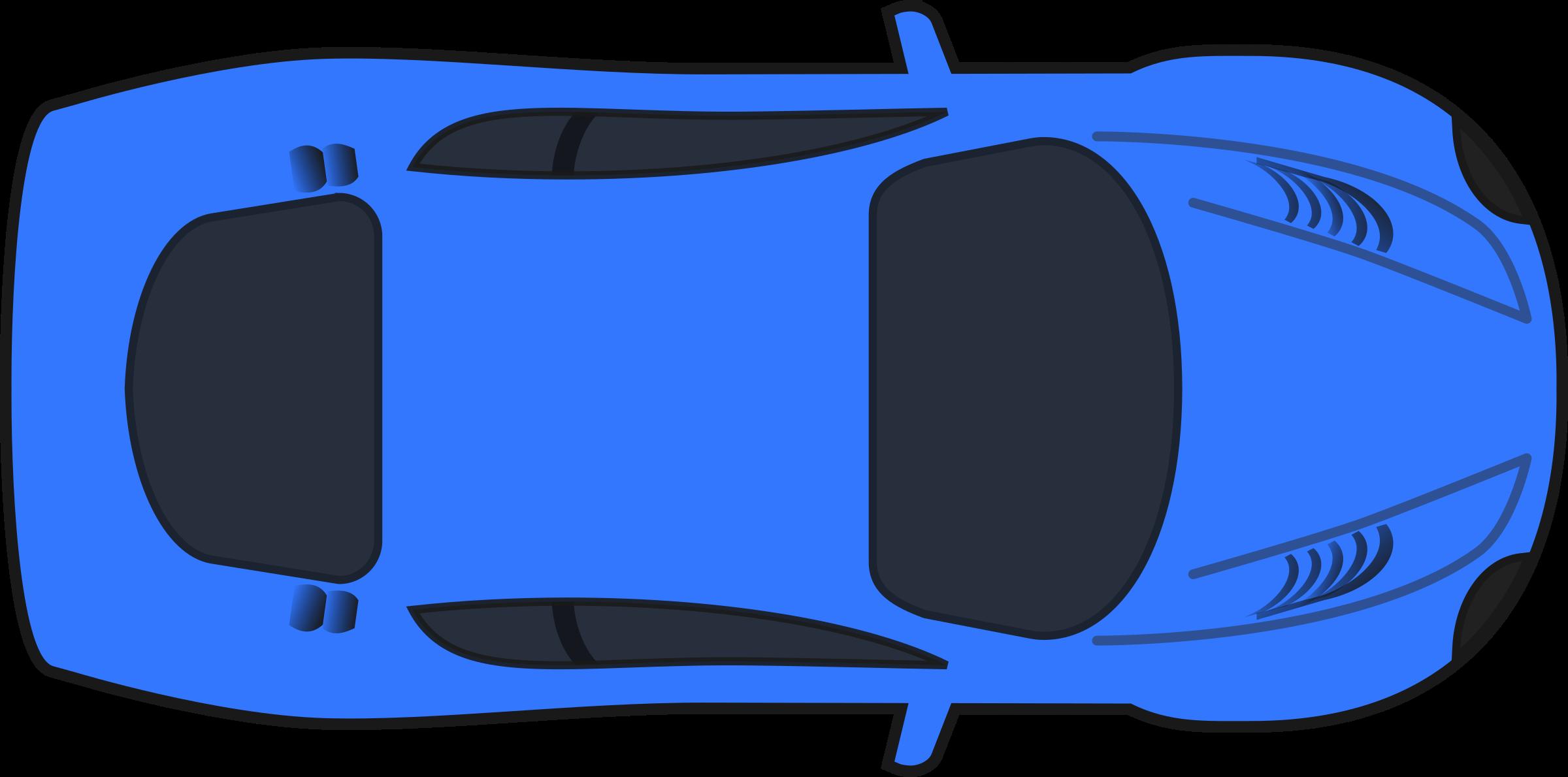 race car top down clipart #2
