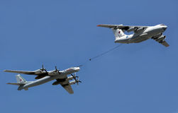Air Refueling, The Russian Air Force Editorial Photography.