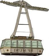 Tramway clip art Free Vector.
