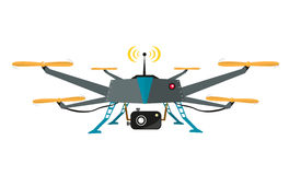 Drone Stock Illustrations.