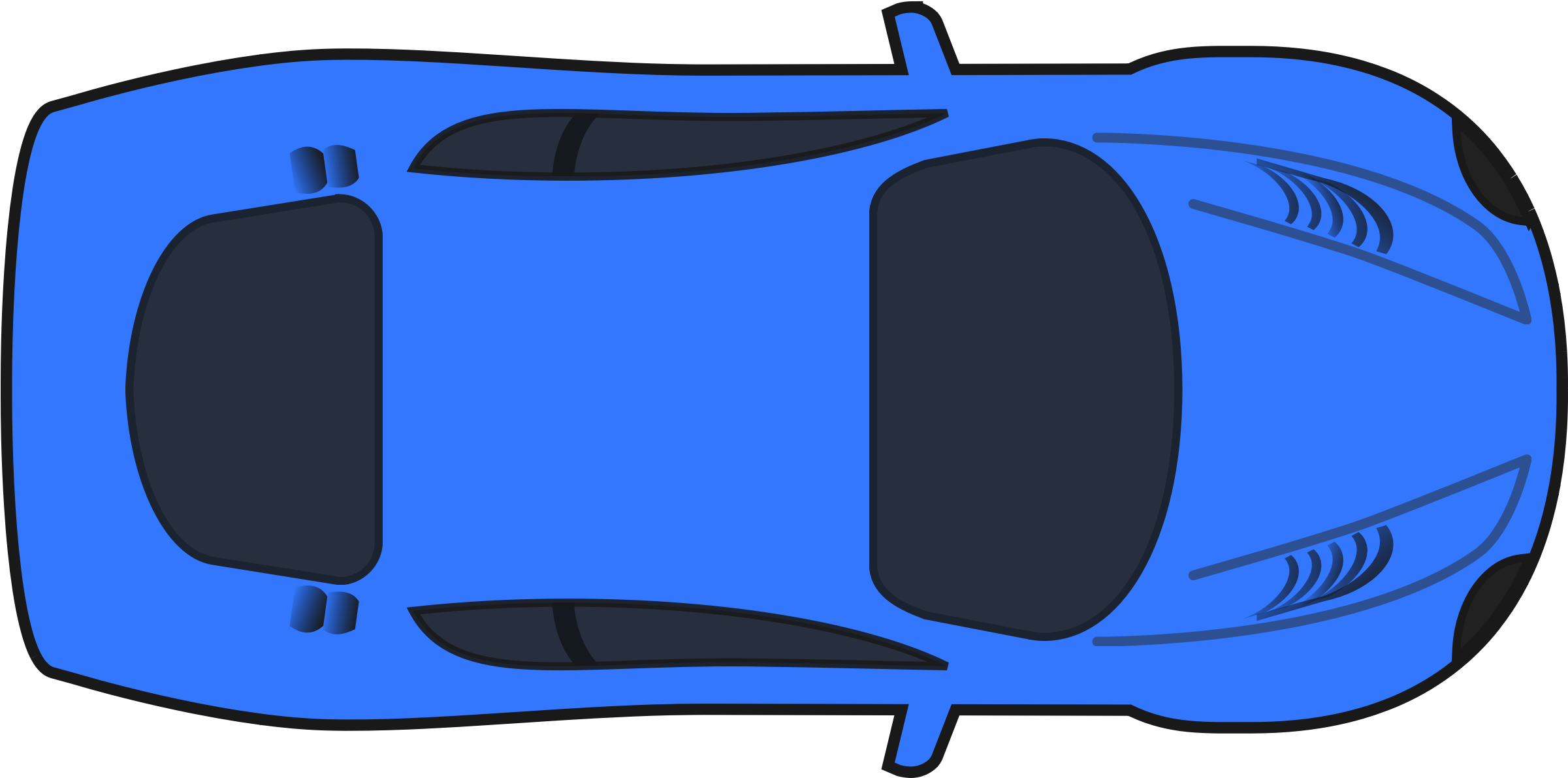 Aerial Clipart View A Car.