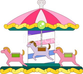The View of Amusement Park stock vectors and illustrations.