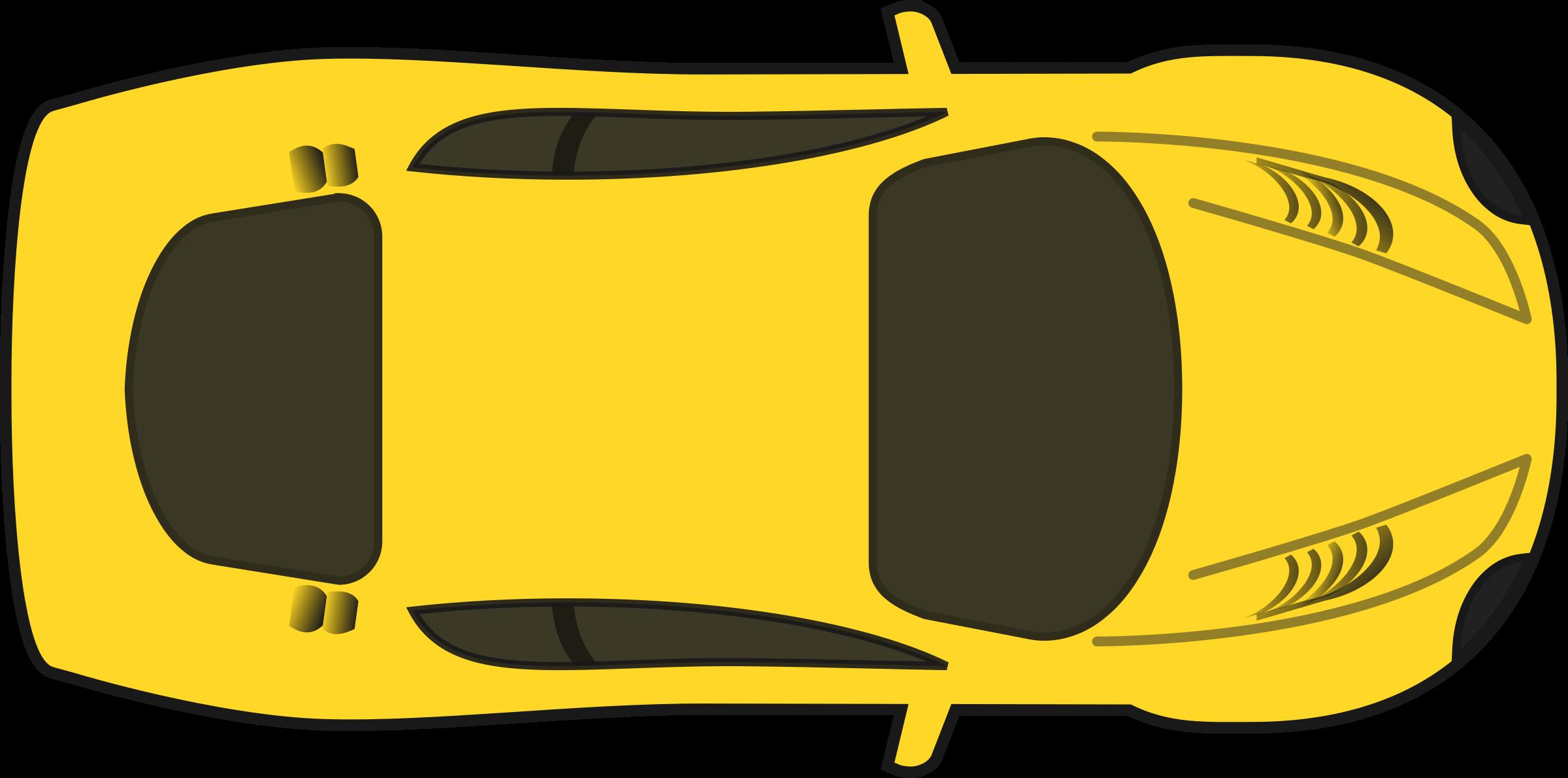 Best Car Clipart Top View #28640.