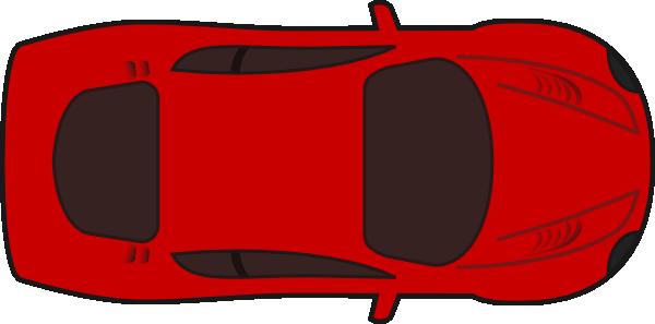 Car Clipart Aerial View.