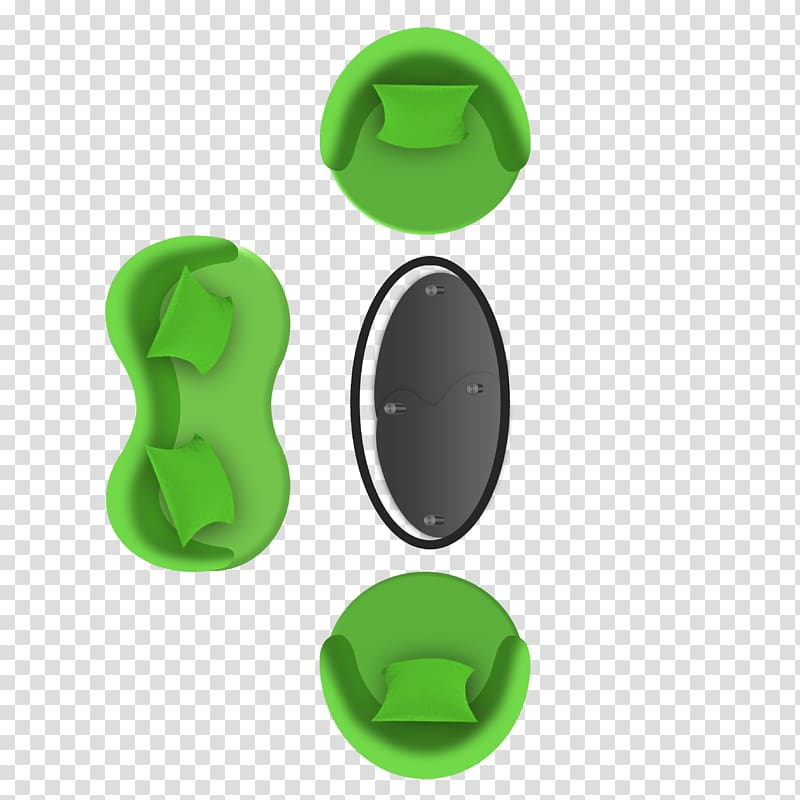 Green couch illustration, Furniture Couch Icon, Office sofa.