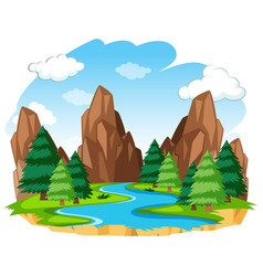 River Clipart Landscape Vector Images (over 1,200).