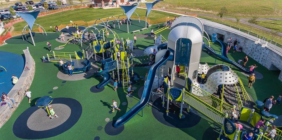 West Commons Playground at Central Park.