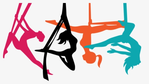 Aerial Yoga Pose Png Clipart Background.