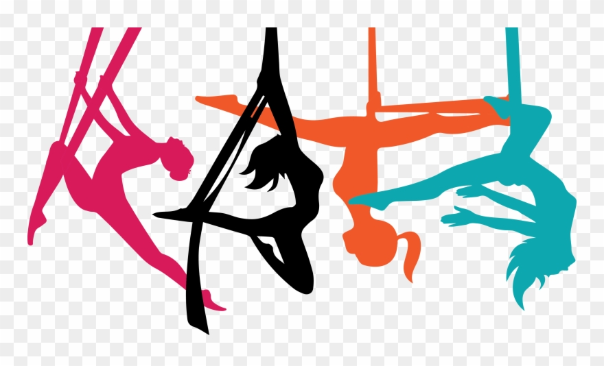 Aerial Yoga Logo Png Clipart (#1604227).