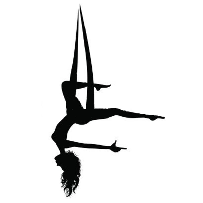 Aerial Yoga Silhouette at GetDrawings.com.
