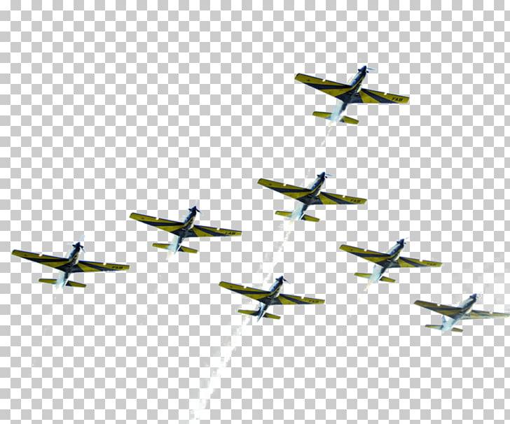 Model aircraft Aviation Aerobatics Propeller, creative smoke.
