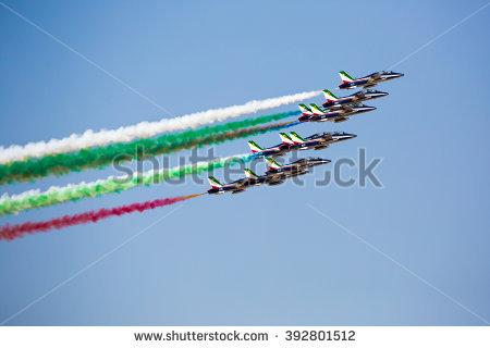 Aerobatic Stock Photos, Royalty.