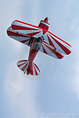 Aerobatic Biplane Stock Photos.