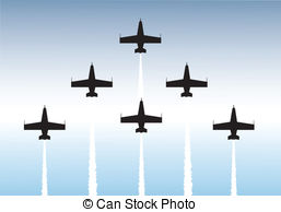 Aerobatics Clipart Vector Graphics. 100 Aerobatics EPS clip art.