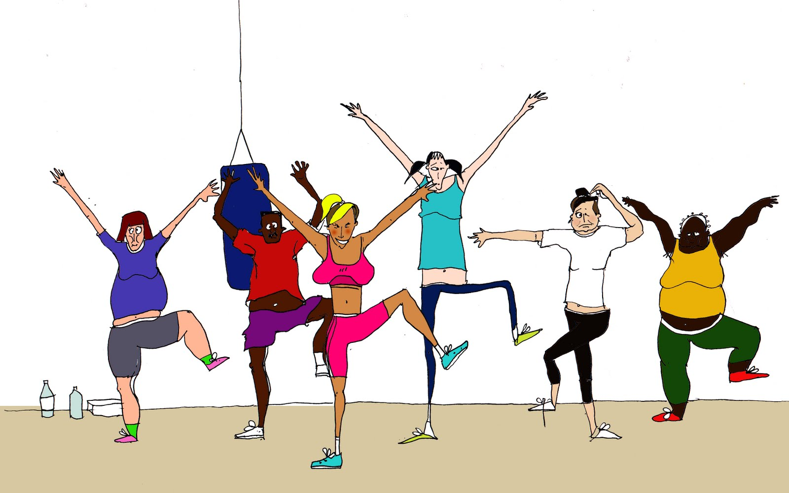 Free Fitness Class Cliparts, Download Free Clip Art, Free.