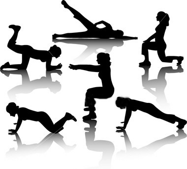 Aerobic exercise clipart 9 » Clipart Station.