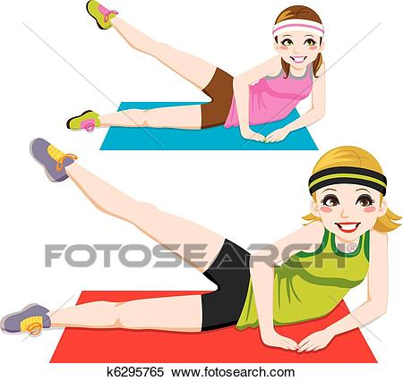 Aerobic Exercise Clipart.
