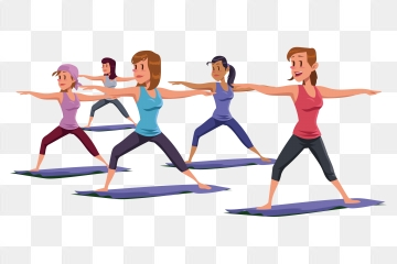 Aerobic Exercise PNG Images.